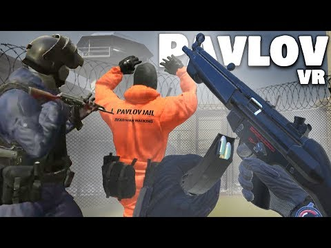Taking Prisoners HOSTAGE in VIRTUAL REALITY! (Pavlov VR Funny Moments)
