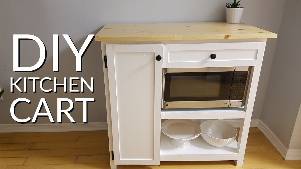 How To Build A Custom Kitchen Cart