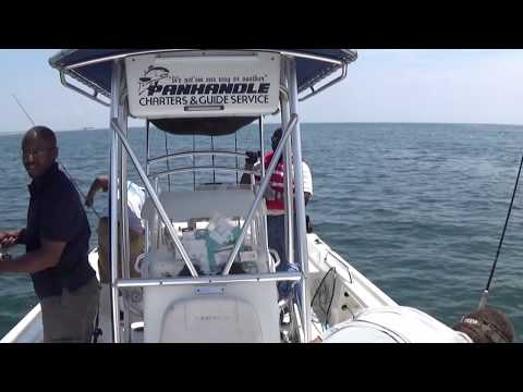 Inshore Fishing  - Pensacola, FL 08:05:2016 (Captain Kenny)