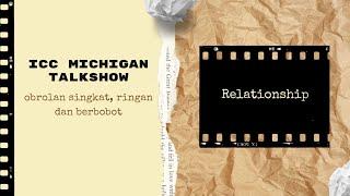 ICC Michigan Talkshow - Membangun Hubungan Orang Tua dan Anak bersama Ps. Joe dan Hana Sudirgo