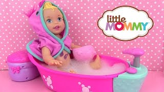 Little Mommy Bubbly Bathtime Bain de Bébé Poupon Baby Doll Color Changer