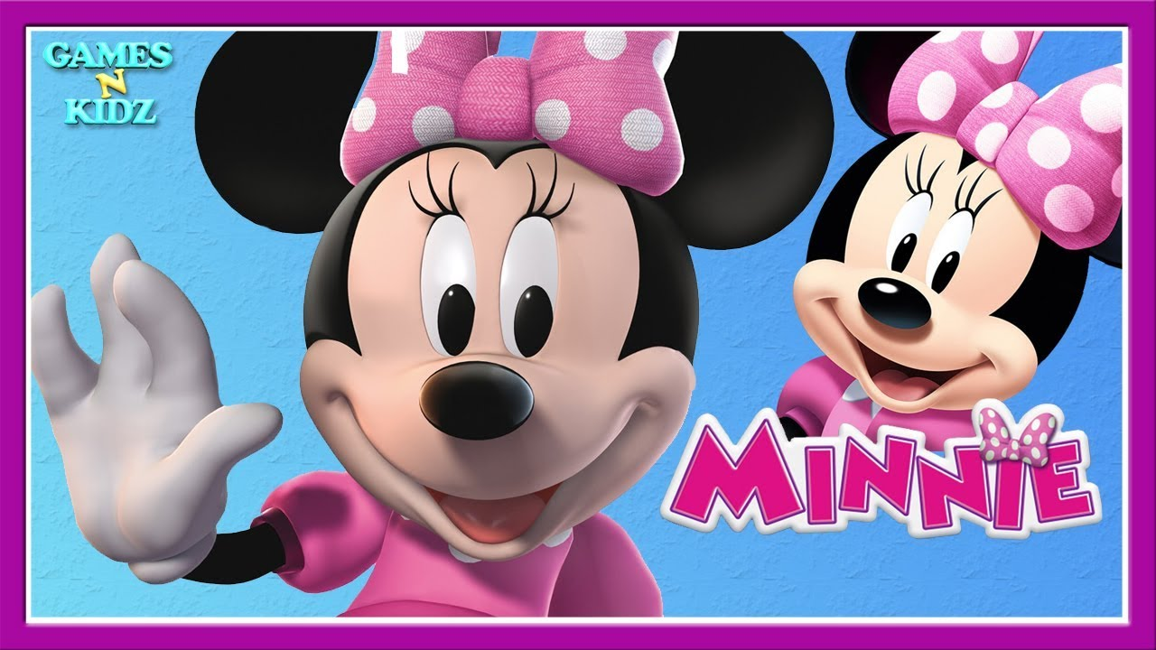 Minnie Mouse Food Cooking Colors Painting Decorating Adventure
