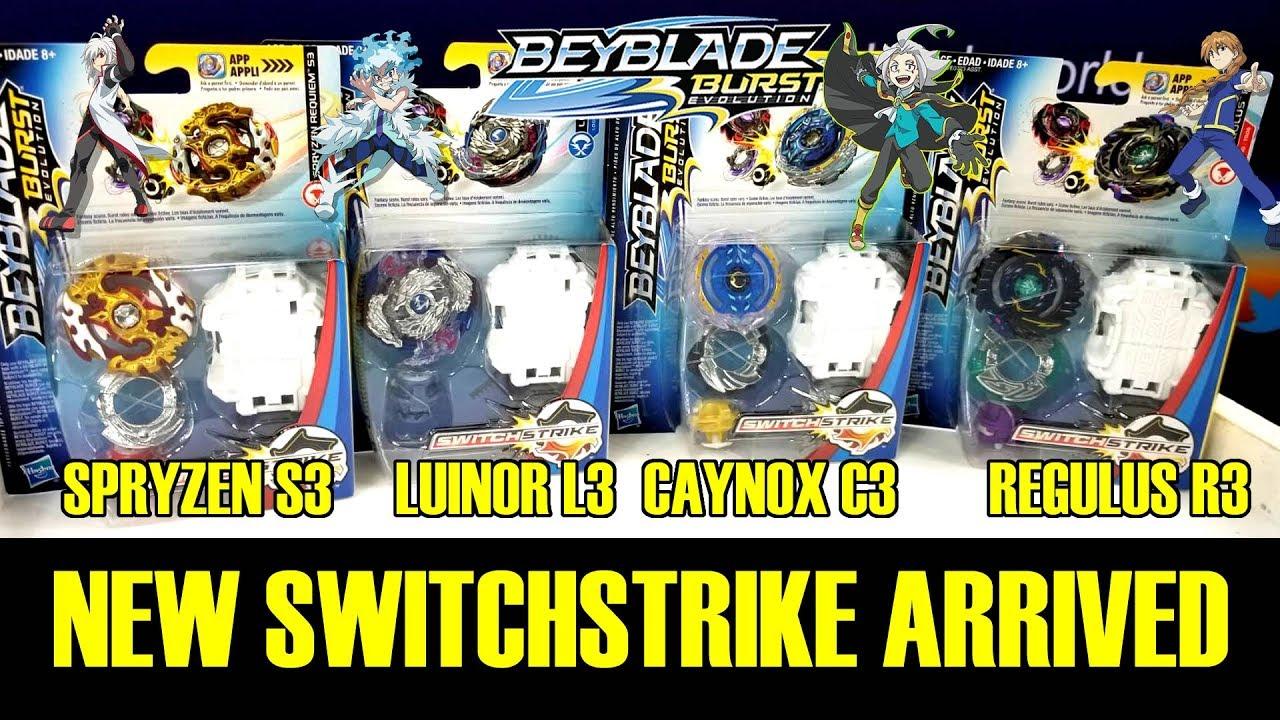 New Switchstrike Wave 4 Spryzen Requiem S3 Lunior L3 Caynox C3