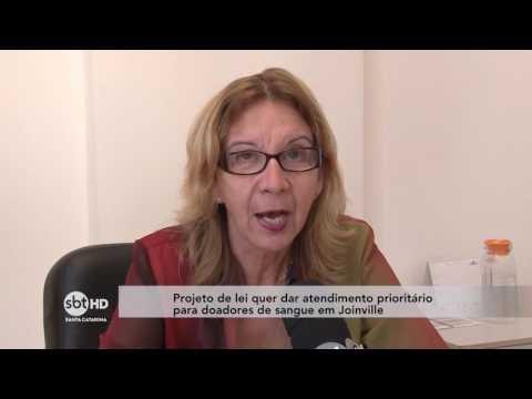 Projeto de lei quer dar atendimento prioritário a doadores de sangue em Joinville