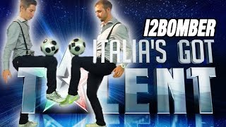 I Campioni di Calcio Freestyle Italiano a ITALIA'S GOT TALENT!!