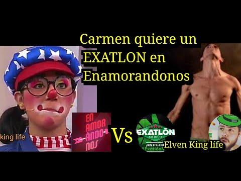 Carmen quiere un EXATLON en Enamorandonos programa 7 de noviembre popotitos vs romel pacheco?