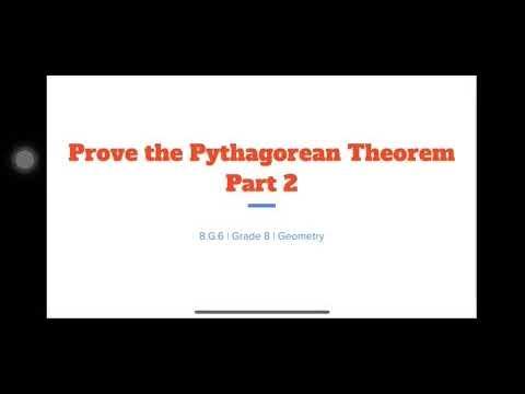 Math Monday: Prove the Pythagorean Theorem with John Haynes