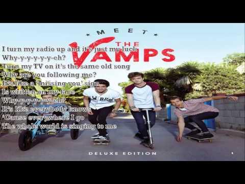 The Vamps   Oh Cecilia Breaking My Heart LYRICS