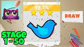Draw Poise : Touch Drawing Kids Game 2019 | Android iOS Gameplay