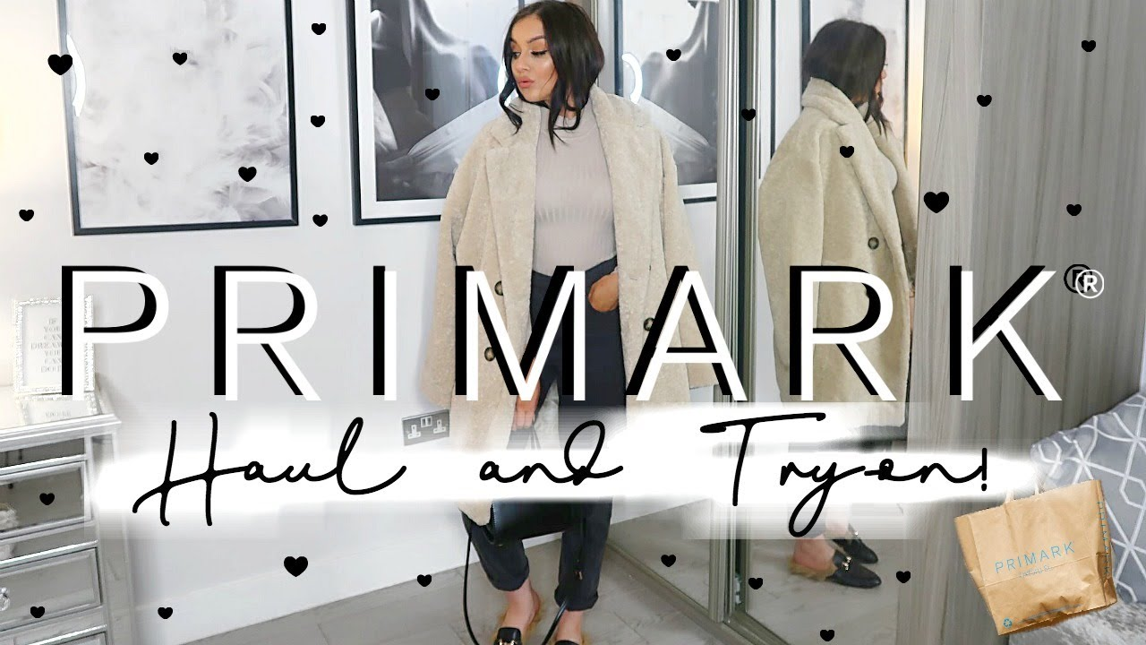 [VIDEO] - HUGE AUTUMN/WINTER PRIMARK HAUL & TRY-ON | OCTOBER 2019 // AW OUTFIT IDEAS! 2