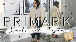 HUGE AUTUMN/WINTER PRIMARK HAUL & TRY-ON | OCTOBER 2019 // AW OUTFIT IDEAS!