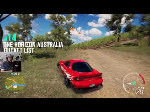 Forza Horizon 3 - RX7 Ja Metsurisimuulaattori 2017 Osa 38