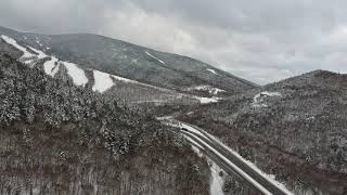 DJI Spark at Cannon MT 11/17/2018