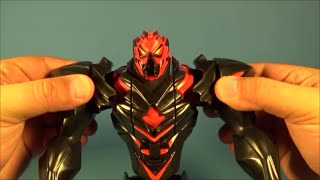 max steel s mega transformation dredd 12 inch action figure toy video review