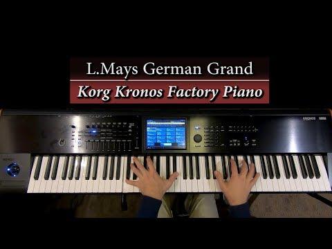 Korg Kronos -  L.Mays German Grand (Factory Piano)