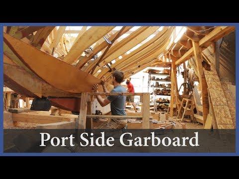 Installing The Port Side Garboard - Acorn To Arabella