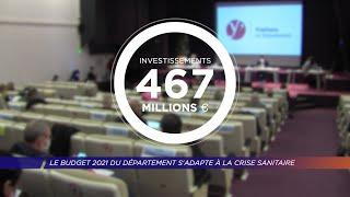 Yvelines | Le budget 2021 du département s'adapte à le crise sanitaire