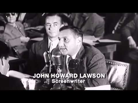 HUAC Hollywood hearings