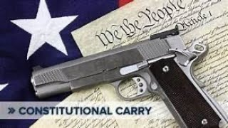 Texas Constitutional Carry  2021 Sound Off