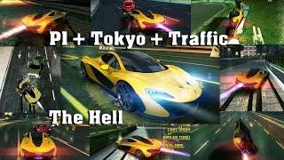 Asphalt 8 - McLaren P1 (Tokyo Rev. & traffic) 1:38.043 ST