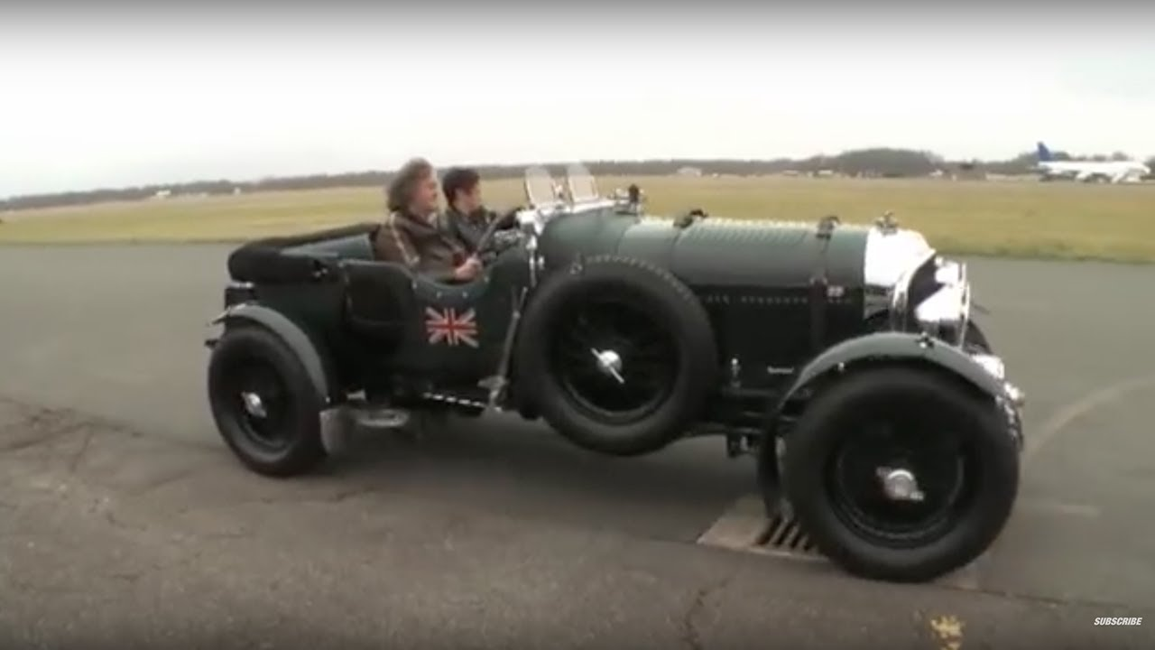 James May Discusses The Classic Bentley | Top Gear