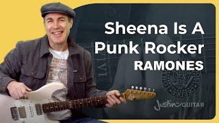 Sheena Is A Punk Rocker Guitar Lesson | Ramones
