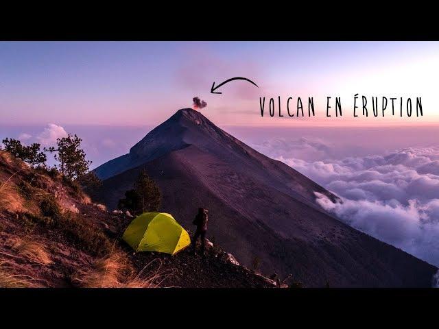 Ascension sans guide du volcan Acatenango au Guatemala! - [Vlog #14]