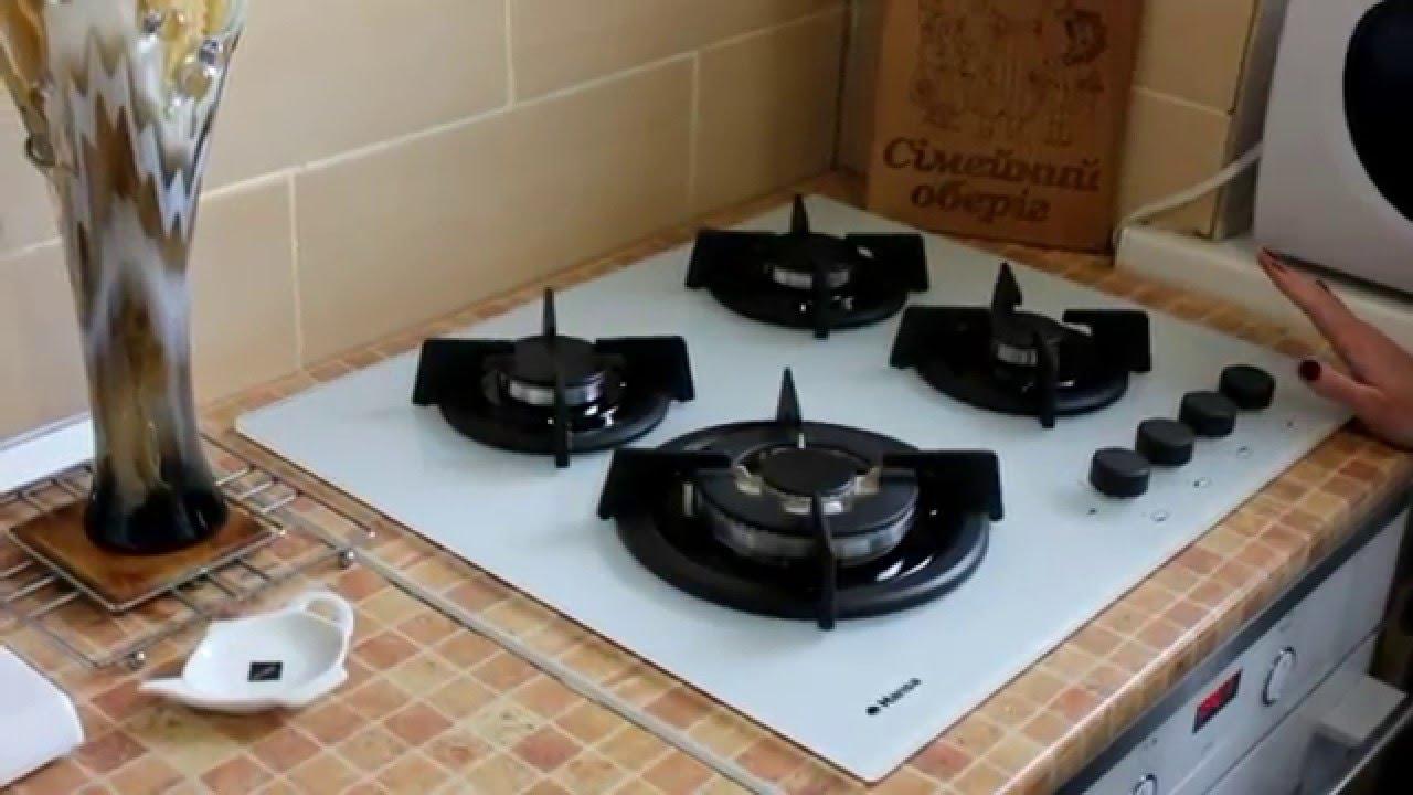 варочная газовая панель ханса инструкция