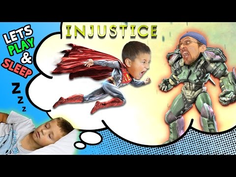 Lets Play INJUSTICE: Mike vs. Duddy & Chase Falls Asleep (GODS AMONG US ULTIMATE FGTEEV Gameplay)