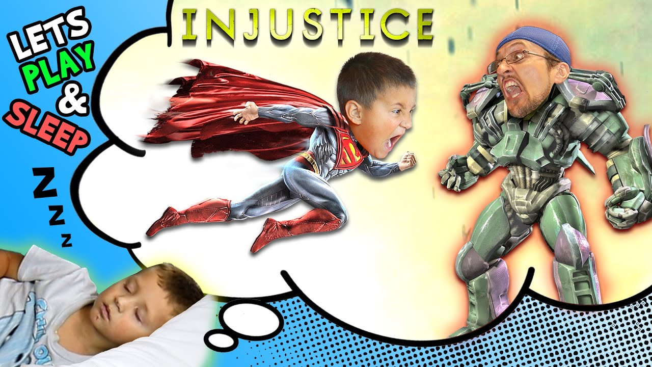 Lets Play INJUSTICE: Mike vs. Duddy & Chase Falls Asleep (GODS AMONG US ULTIMATE FGTEEV Gameplay