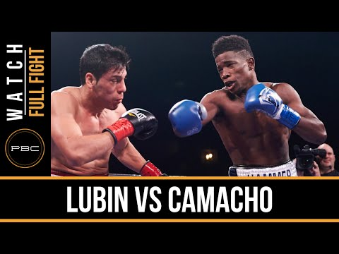 Lubin vs Camacho FULL FIGHT: Nov. 28, 2015 - PBC on NBC