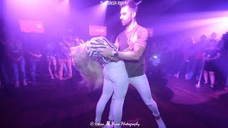 Cover images Kiko & Christina / Bachata Sensual Demo @ The Salsa Room / Daniel Santacruz - Si digo te amo