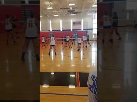 Nashville Community High School, IL Abby Grabowski (#2) to Delaney Varel (#9)