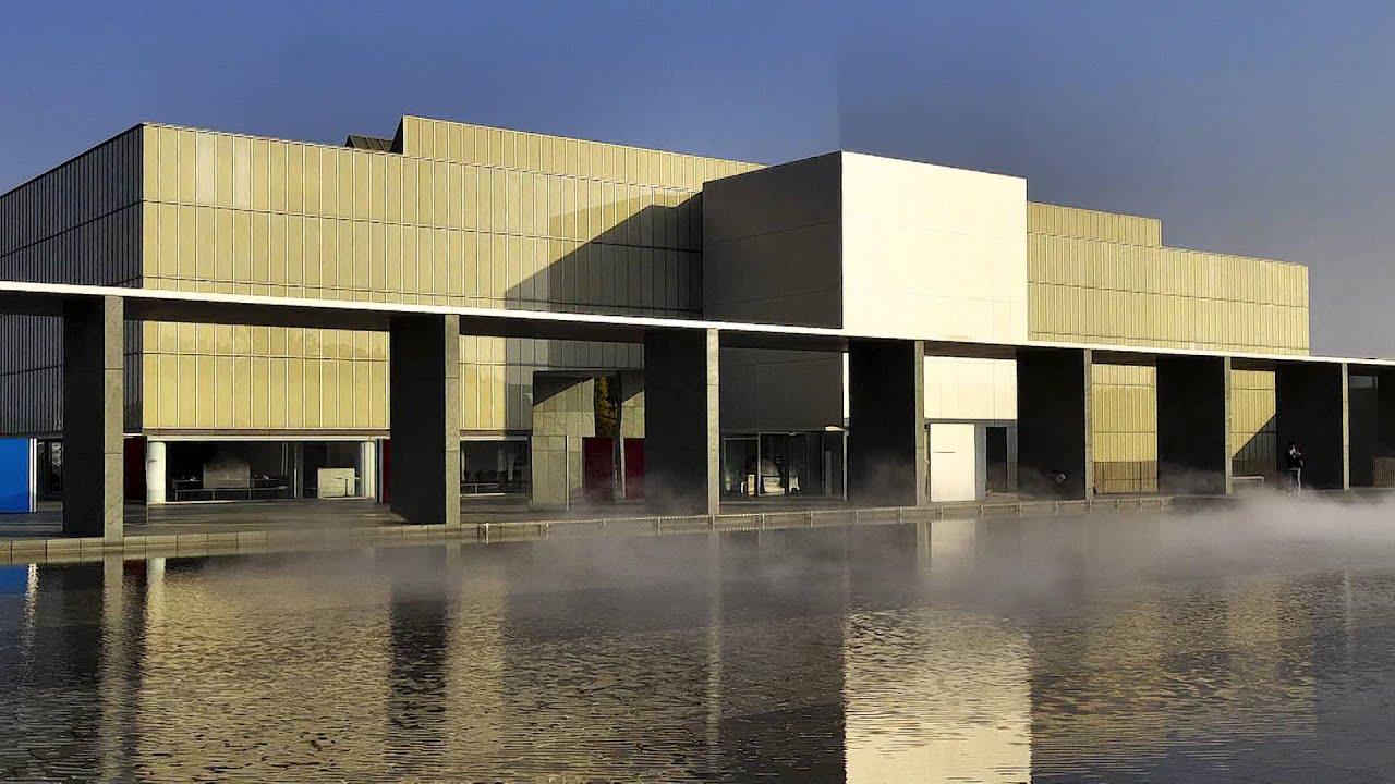一生に一度は行きたい日本の名建築 豊田市美術館 - YouTube