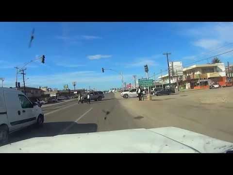 Ensenada Baja California Mexico  Maneadero carretera Transpeninsular
