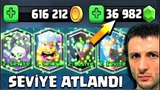 930 TL'ye   36.982 GEM ALIP HESAP GELİŞTİRDİM !! - Clash Royale
