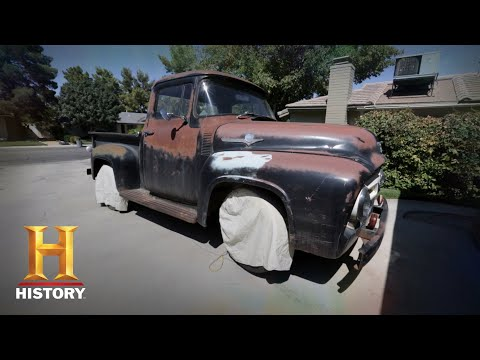 Counting Cars: Kevin And Roli Find An Old 56 Ford F100 (Season 7, Episode 14) | History