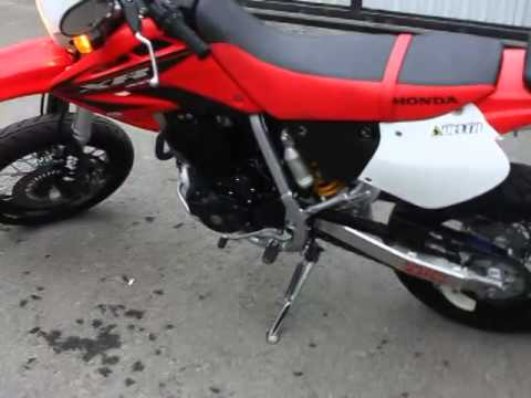 honda xr400 motard 2007 youtube. Black Bedroom Furniture Sets. Home Design Ideas