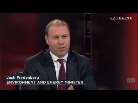 Lateline Interview: Josh Frydenberg, Environment and Energy Minister