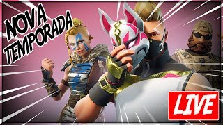 🔴 LIVE - FORTNITE | Primeira LIVE do Canal
