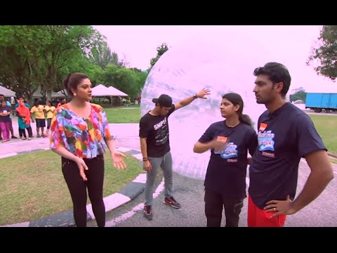 Made for Each Other I Ep 16 - Bubble Game I Mazhavil Manorama