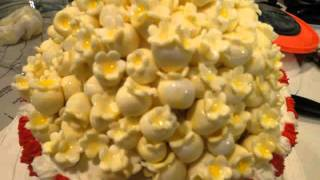 How To Make Popcorn Cake And Cupcakes