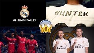 ALEX HUNTER FICHA POR EL REAL MADRID!!   EL CAMINO EN FIFA 19