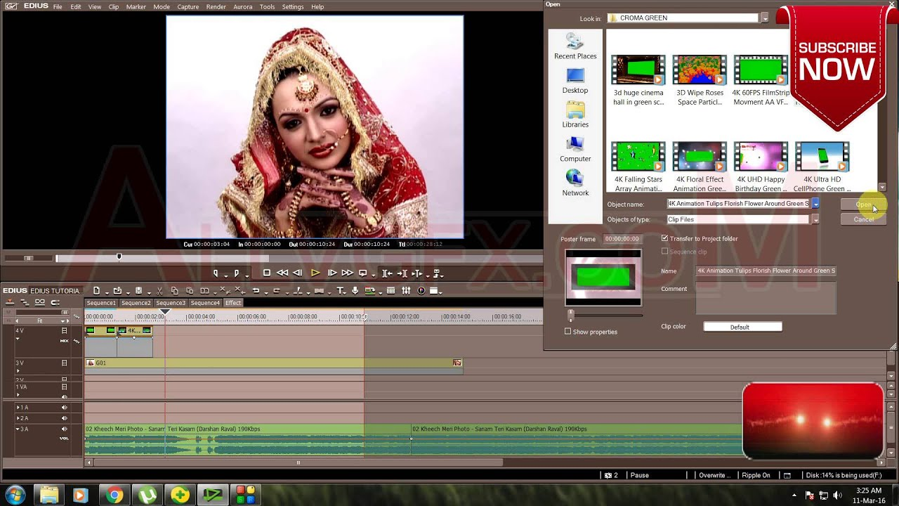 Edius Video Editing Wedding Video Editing Video Mixing Croma