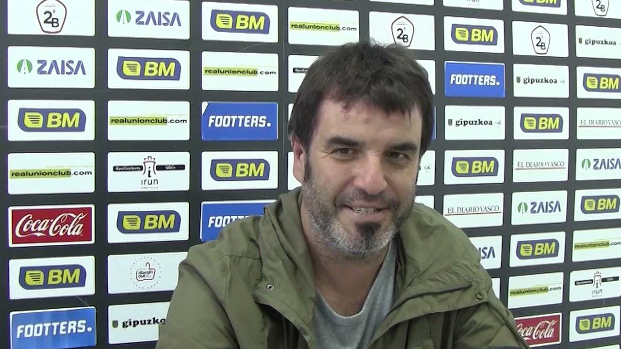 Aitor Zulaika, en la previa del Rayo Majadahonda-Real Unión