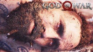 Kratos Kills Baldur, Making Himself an Enemy of Freya GOD OF WAR (PS4 Pro) - God of War 2018