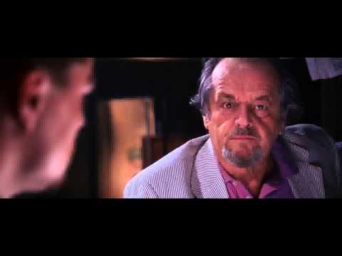 The Departed - Jack Nicholson Leonardo DiCaprio Unscripted Gun