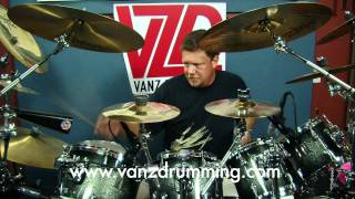 How to Play Drums - More Cowbell Groove - Vanz Drumming