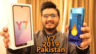 Huawei Y7 Prime 2019 Unboxing | Aurora Blue Color