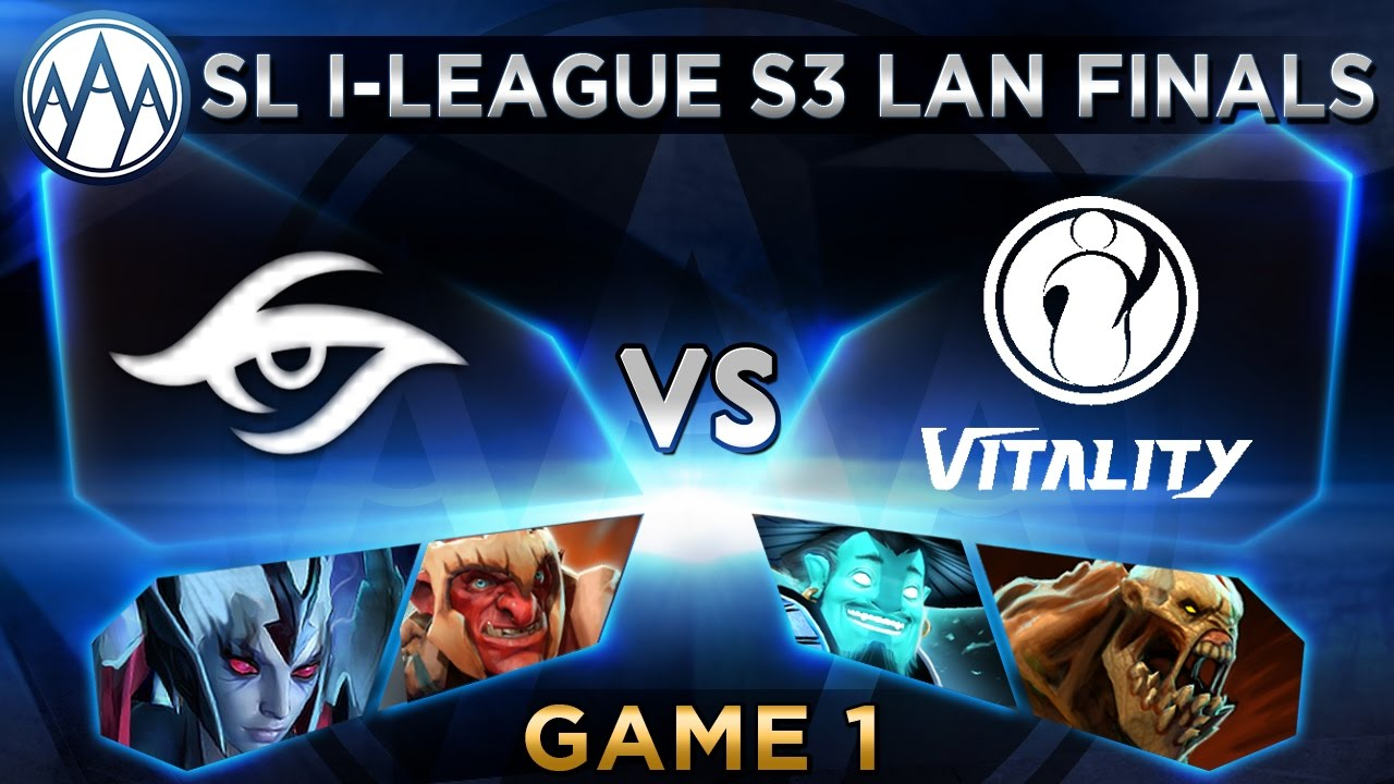 Secret vs iG.Vitality Game 1 - SL i-League StarSeries S3 LAN Finals - @LyricalDota @BTSGoDz
